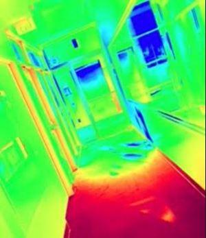 Thermal Hallway Photo